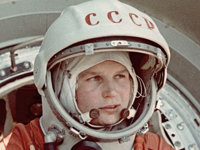 What was the name of the first woman in space?