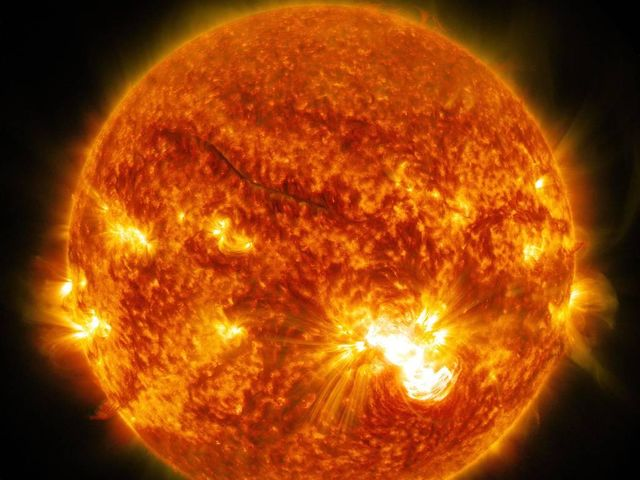 50% of our solar systems mass is the sun.