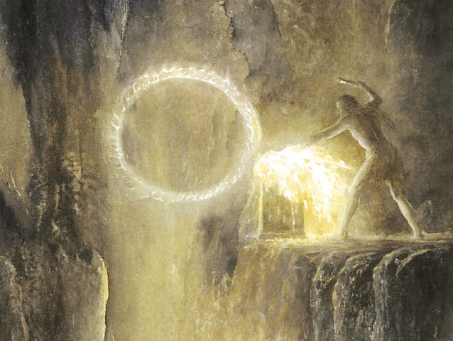 What sacred object was sacrificed to Melkor during the decline of Númenor?