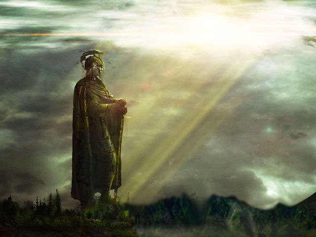 The Dúnedain were led to Númenor by what?
