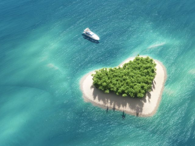 What do the letter 't' and an island have in common?