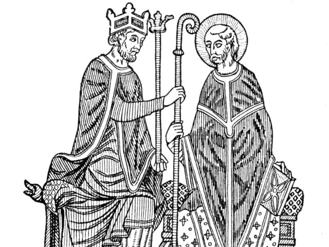 Who was more powerful during the Middle ages, The King or The Church?