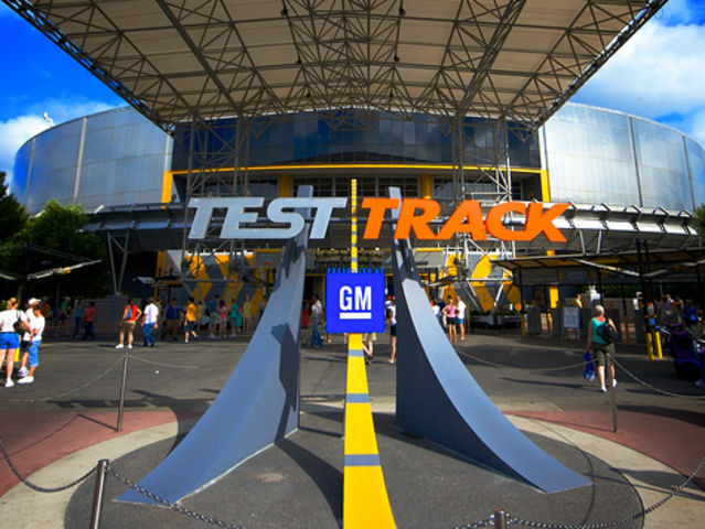 Test Track reaches speeds of 65 miles per hour!