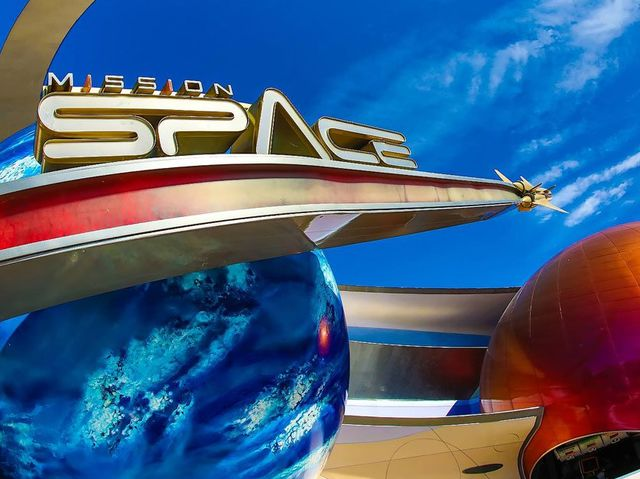 True or false: Disney's Mission Space ride runs on more computer power than NASA's actual space shuttle.