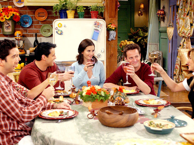 How many Thanksgiving episodes were there in Friends all together?