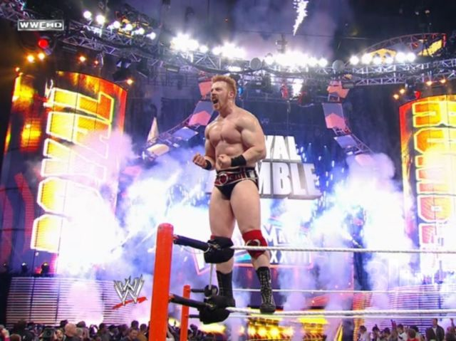 Who won the 2012 Royal Rumble?