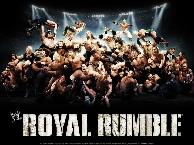 Who won the 2007 Royal Rumble?