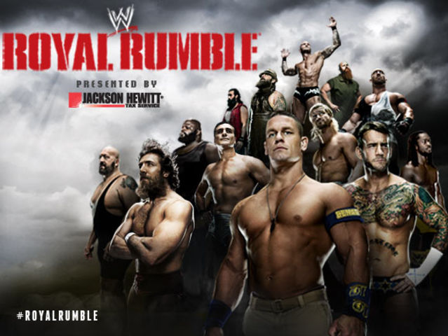 Who won the 2014 Royal Rumble?