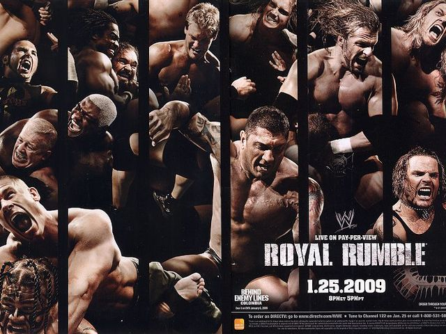 Who won the 2009 Royal Rumble?