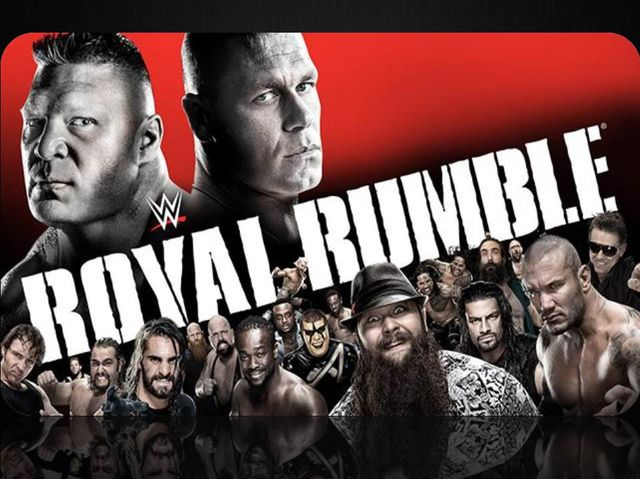 Who won the 2015 Royal Rumble?