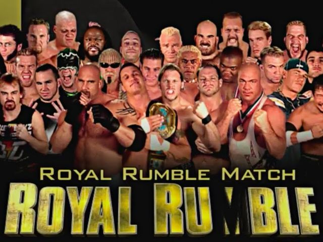 Who won the 2004 Royal Rumble?