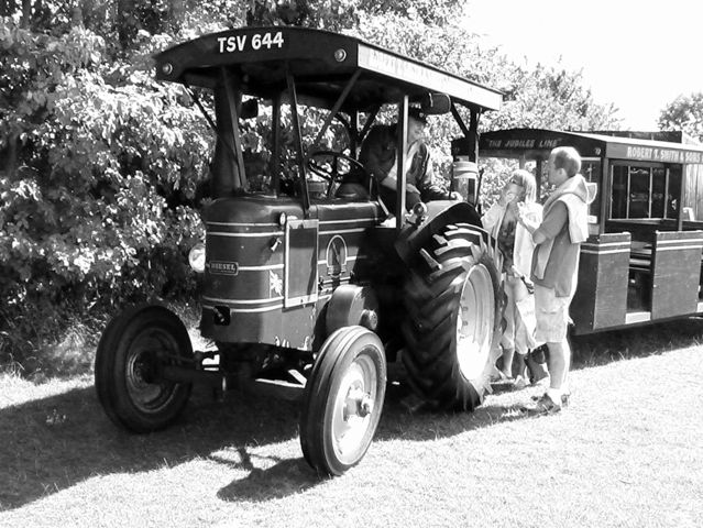 Unusual transport in Caldecote in 2010. This was due to