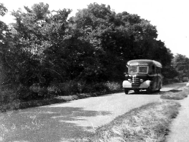 Which bus company ran this service on Highfields in the 1960s