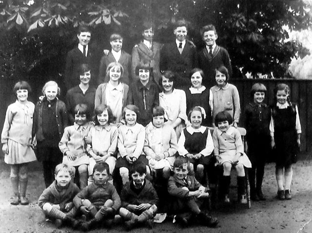 In the 1930's, these Caldecote children went to ...