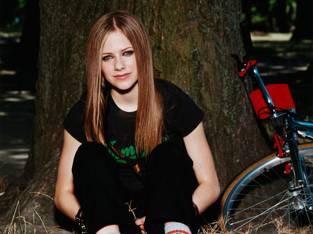 What's the name of Avril's first single?