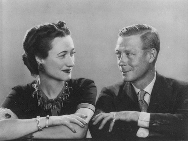 He wanted to marry an American divorcee, Wallis Simpson!
