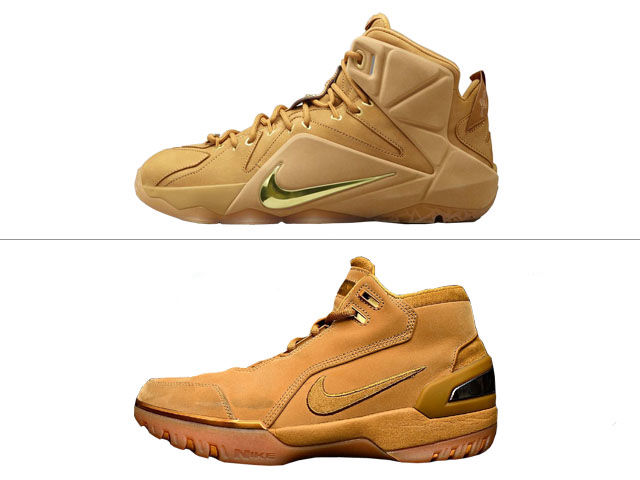 "Both the Air Zoom Generation and LeBron 12 have released in ""Wheat"" colorways."