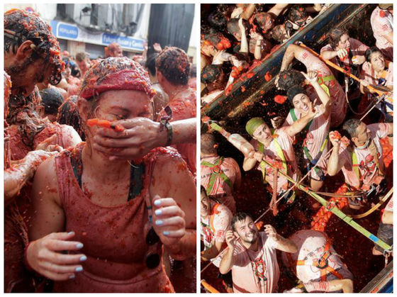 There's A Giant Tomato Fight In Spain Every Year And It Looks Like So Much Fun!
