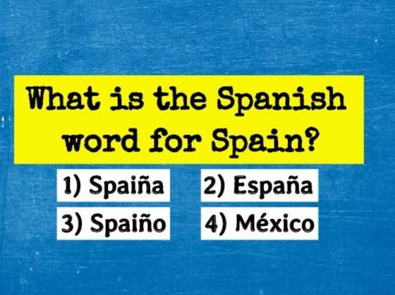 Only 2% Of The Population Can Pass A Basic Spanish Drill. Can you?