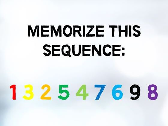 3 In 7 People Remember Numbers Better Than Colors, Do You?