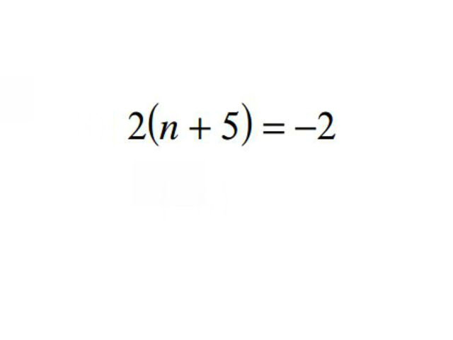 how to solve basic algebra equations