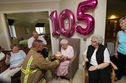 This 105 Year Old Woman Got An Epic Birthday Present; A Tattooed Fireman!