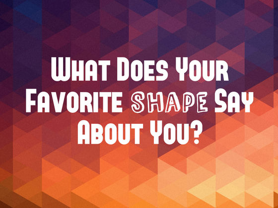 What Shape Is Your Personality?