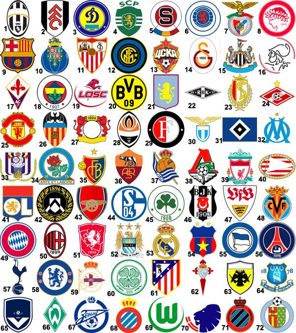 find the football logo | playbuzz