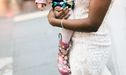 This Bride Got The Cutest Photoshoot Ever When A Little Girl Thought She Was A Princess