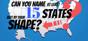 Only 2% Of Americans Can Name At Least 15 States Just From Their Shape
