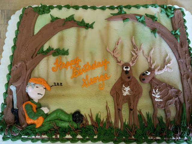Fantastic Top 10 Birthday Cakes For The Deer Hunter Playbuzz Personalised Birthday Cards Veneteletsinfo