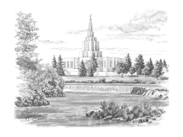 Can You Find the Hidden Images in These Temple Sketches? | LDS Daily