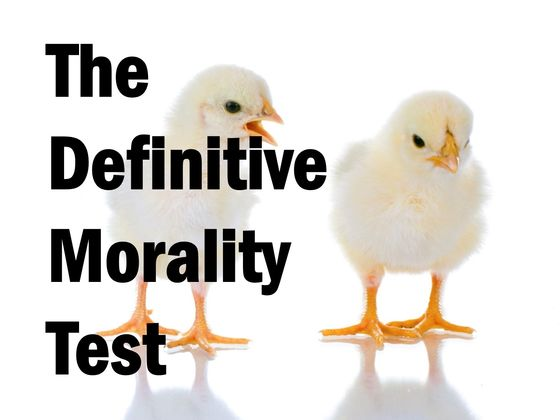 The Definitive Morality Assessment Test