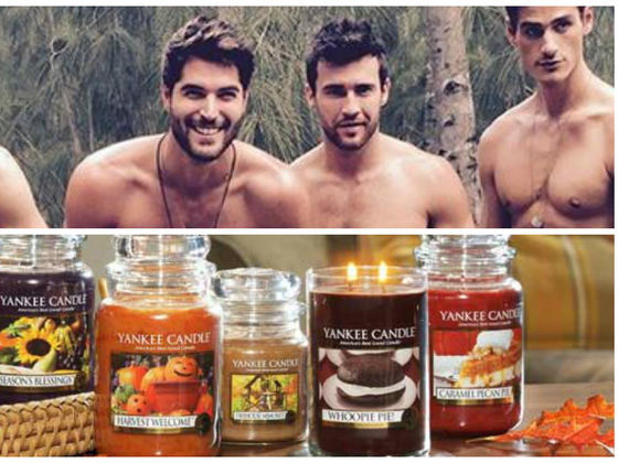 What Yankee Candle Does Your Perfect Man Smell Like?