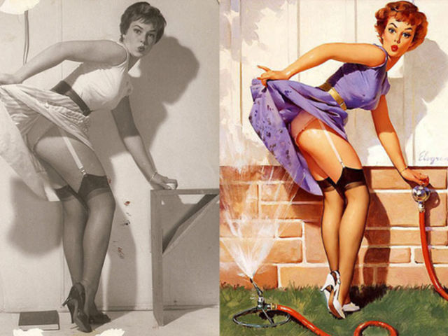 1af1f2b675e This Is What Pin-Up Girls Actually Looked Like In Real Life | Playbuzz