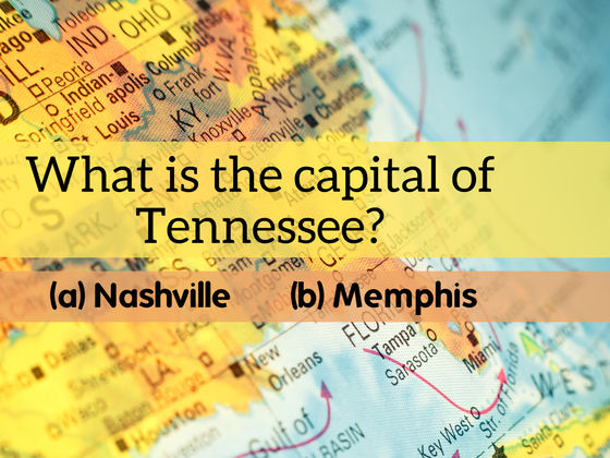 Do You Know The Capitals Of All Southern US States QUIZ - Map of southern us states