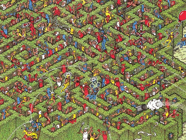 image relating to Where's Waldo Pictures Printable identified as Can On your own Obtain Waldo Within All All those Shots? Playbuzz