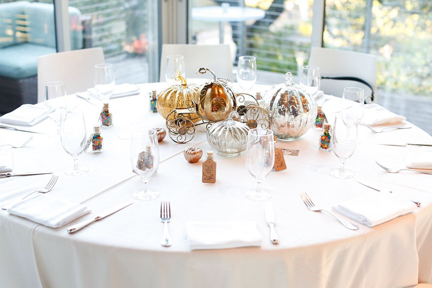 Bei Dieser Hochzeit War Die Deko Auf Jedem Tisch Von Einem Anderen