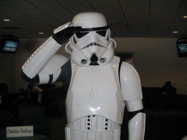 Image result for stormtrooper salute