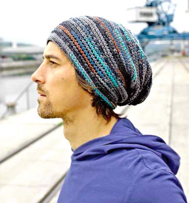 Coole Männer Mütze Häkeln Nora Kdesign