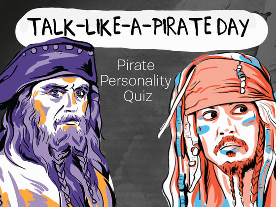 Talk-Like-A-Pirate Day Pirate Personality Quiz
