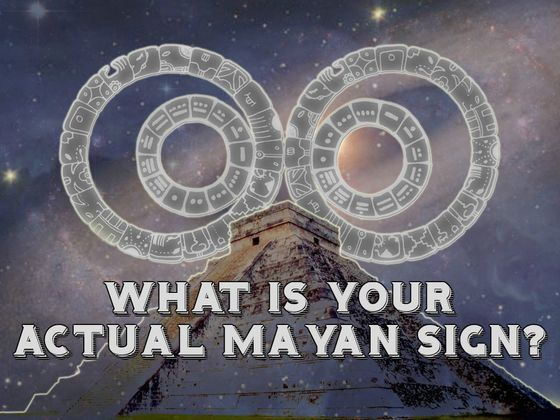 What Is Your Actual Mayan Sign?