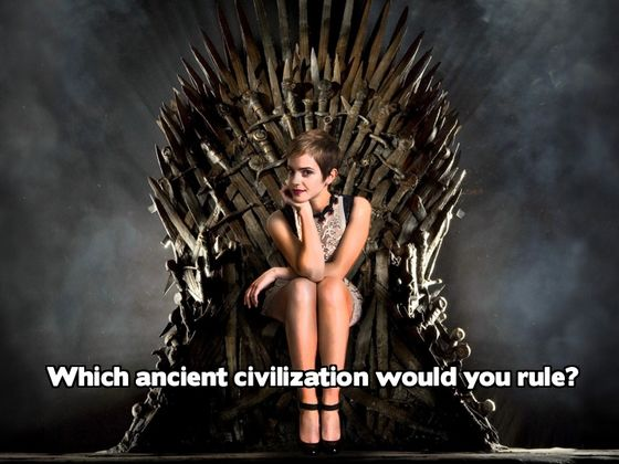 Which Ancient Civilization Would You Rule?