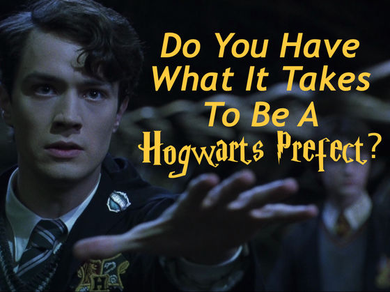 Do You Have What It Takes To Be A Hogwarts Prefect?