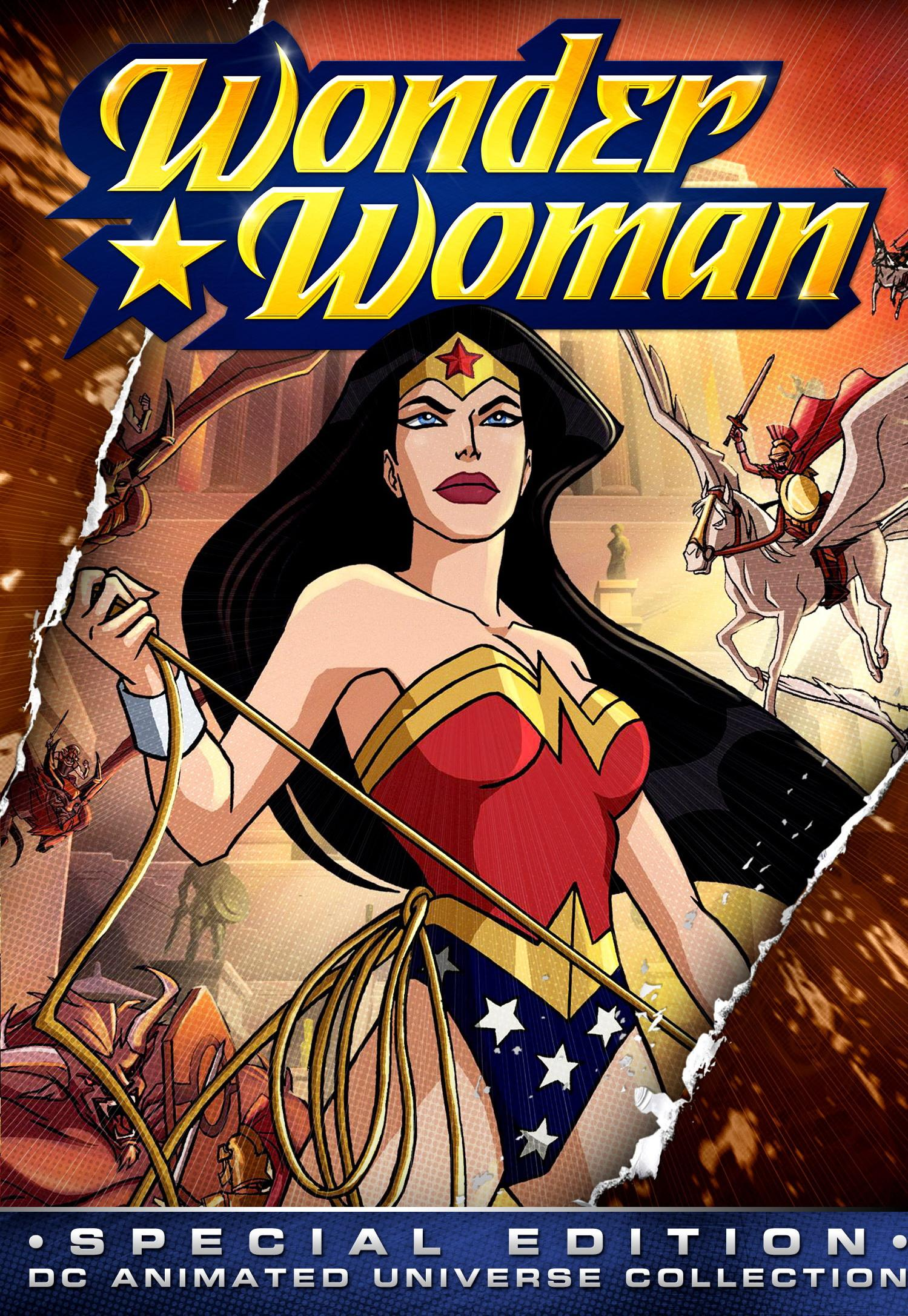 cover of 2009 wonder woman movie