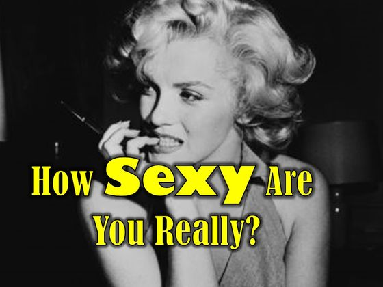 How sexy are you test