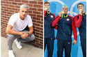 Ryan Lochte's Hair Has Changed From Silver To Green Thanks To The Magic Of Chlorine