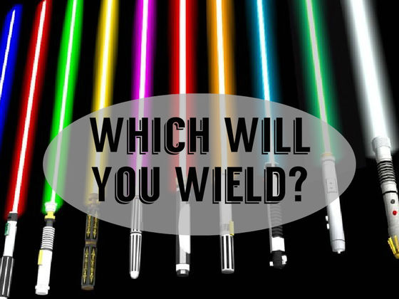 What Color Would Your Lightsaber Be?