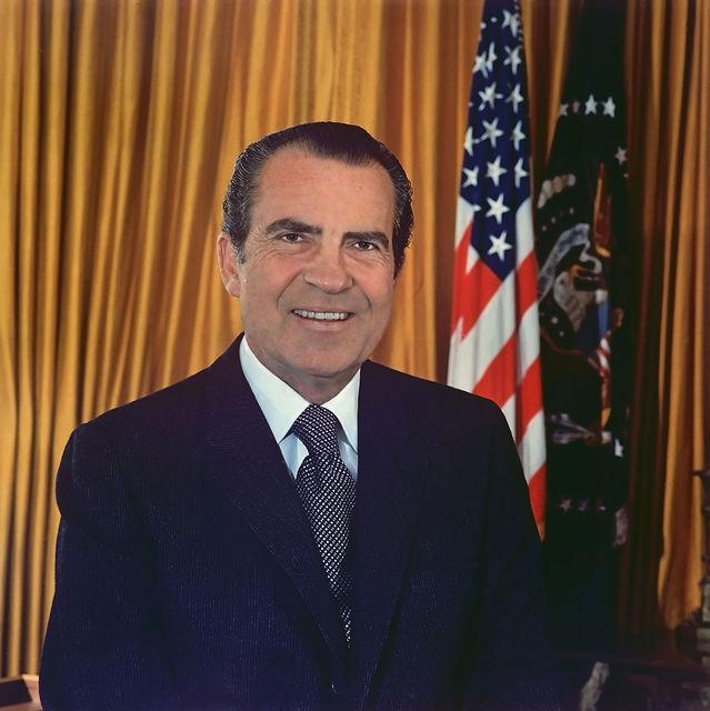 Ричард Никсон, 37-ой президент США (1969—1974)