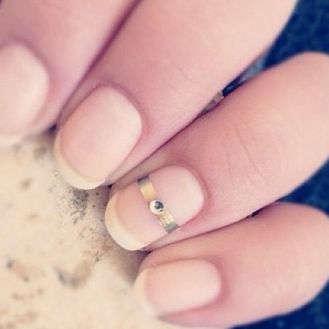21 Beautiful Bridal Nail Art Designs To Stand Out On Your Wedding ...